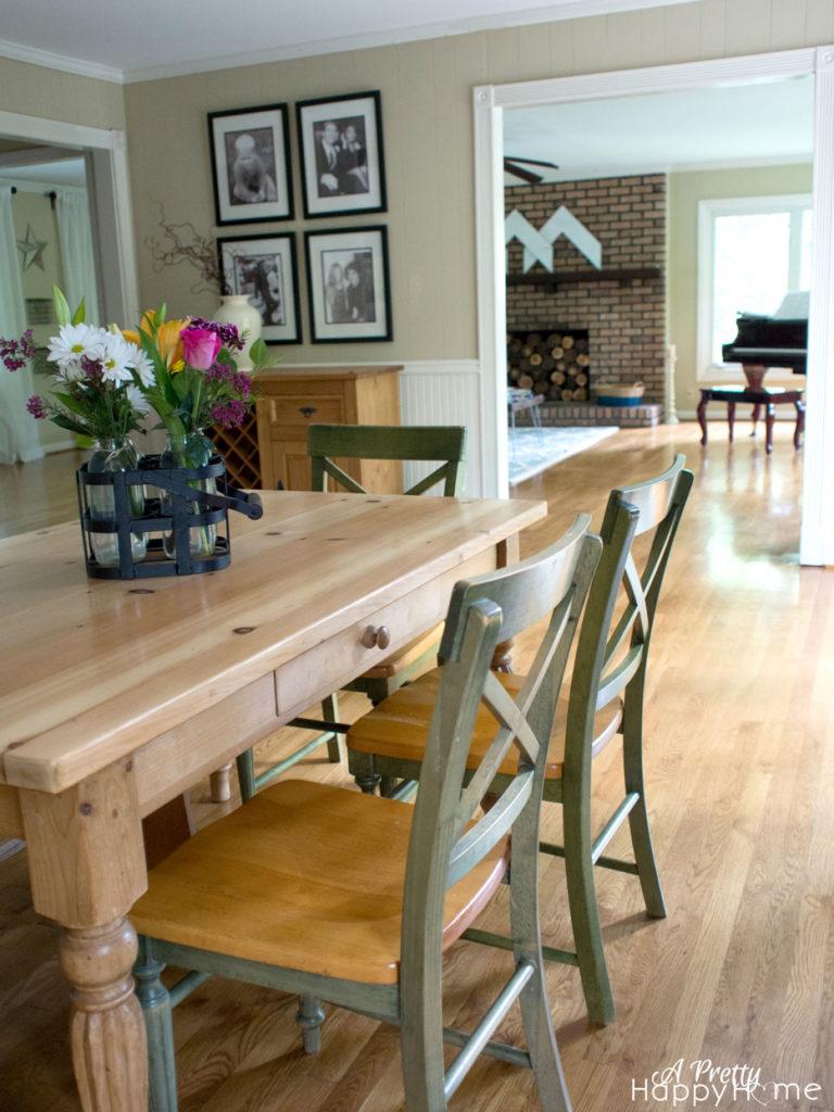 dining table refinish