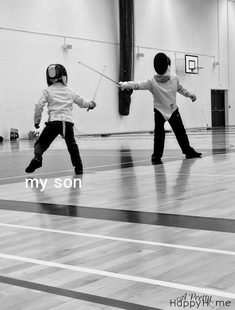 youth fencing on friday funnies