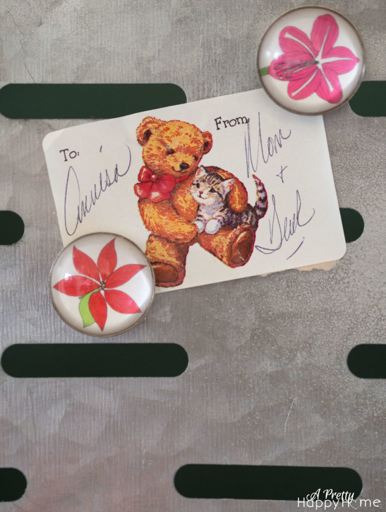 sentimental gift tag on the happy list