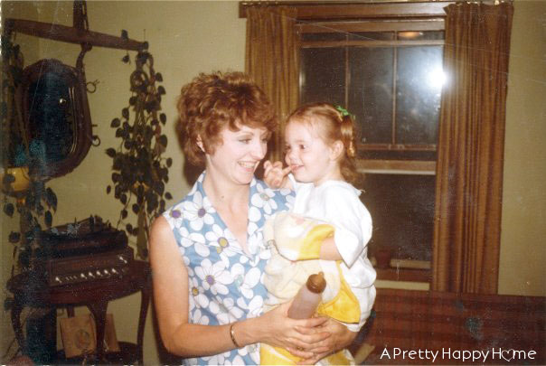 me and my mom 1978