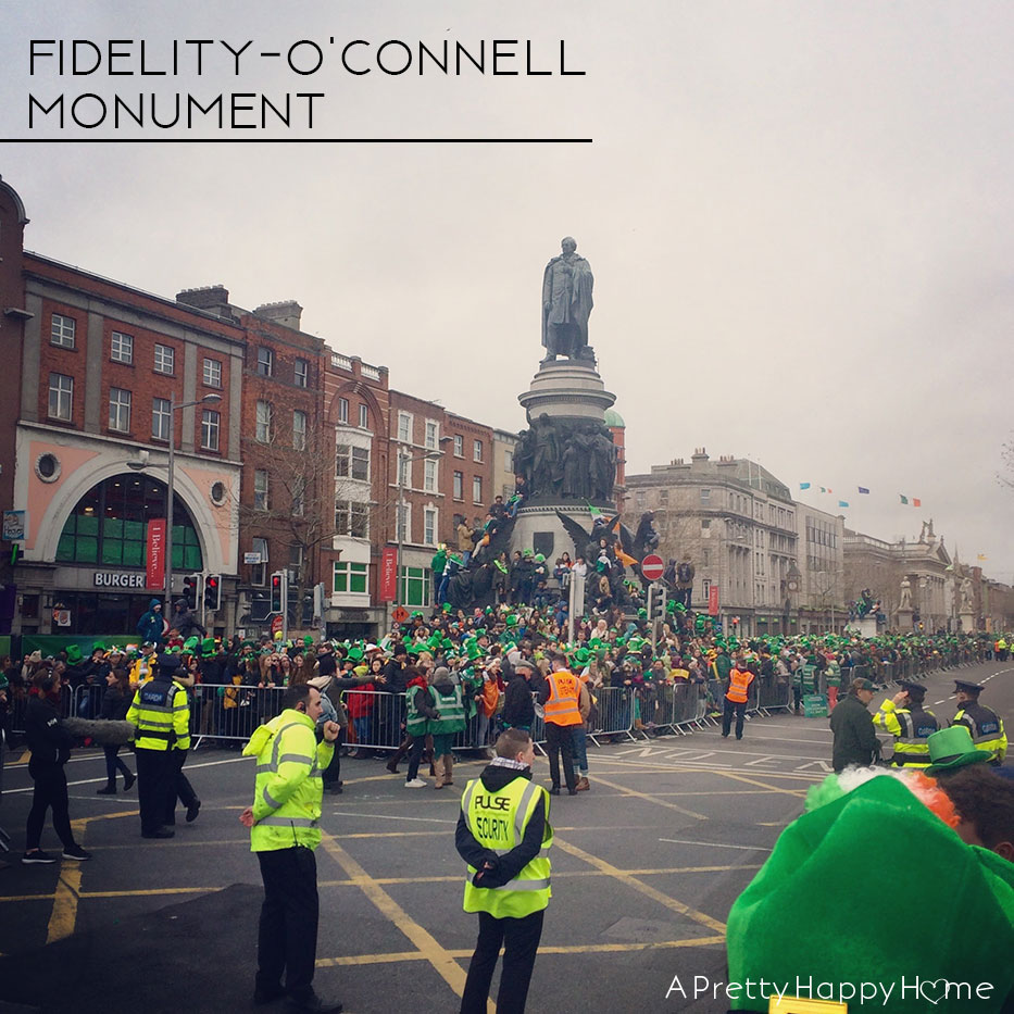visiting ireland - o'connell statue