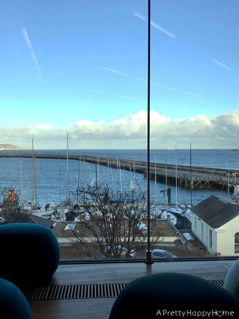 view from library in dun laoghaire ireland humor break