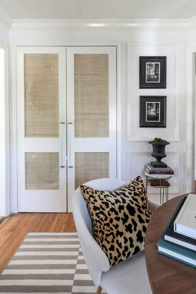 diy cane doors by the hunted interior https://huntedinterior.com/2019/03/cane-doors-laundry-nook.html