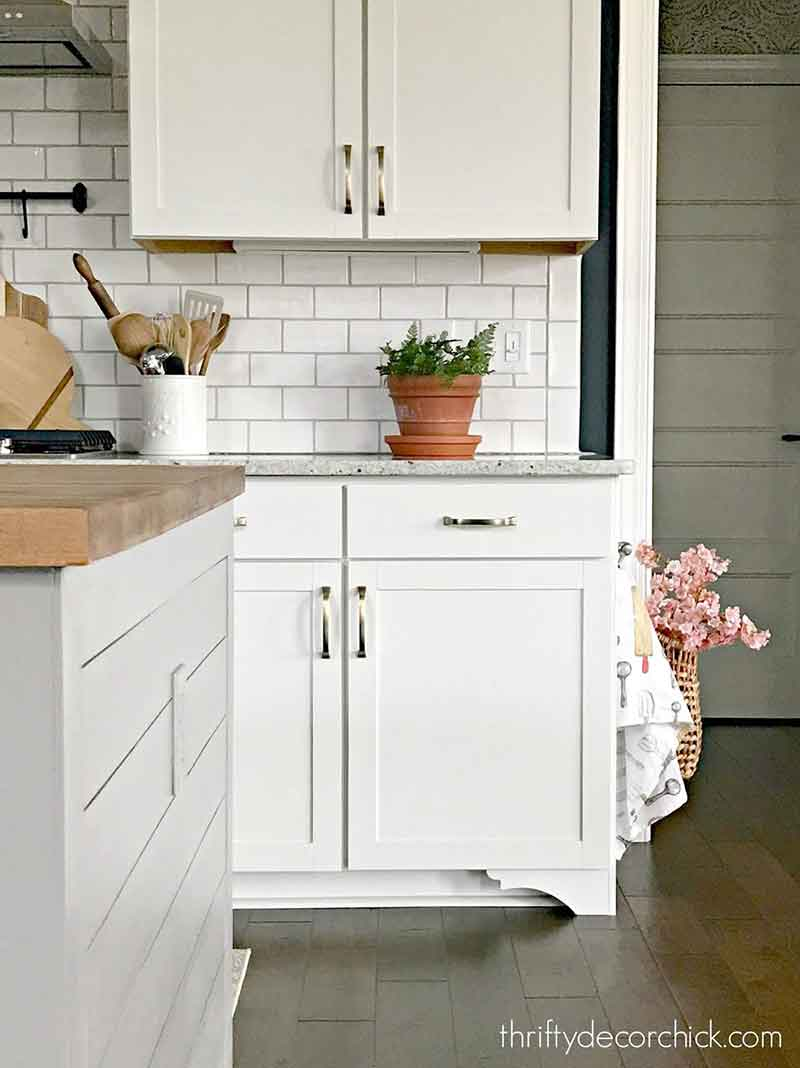 diy furniture feet for cabinets from thrifty decor chick