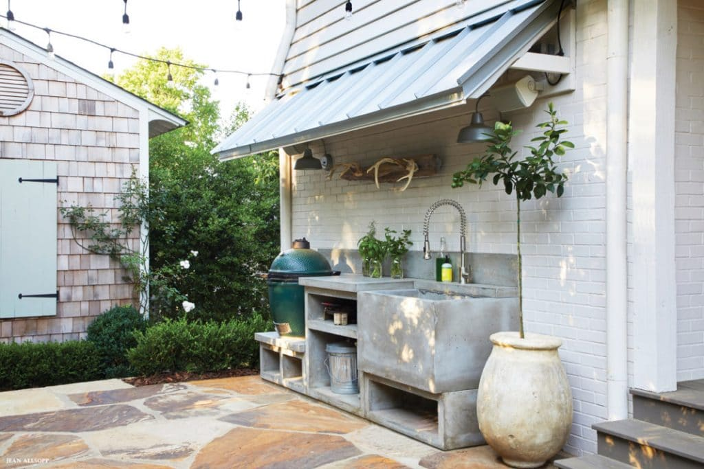 outdoor farm kitchen jean allsopp Birmingham home and garden