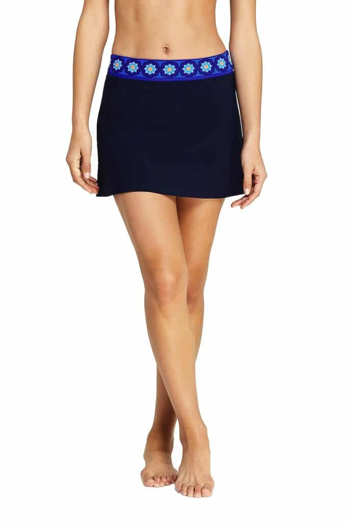 lands end skirted swimsuit
