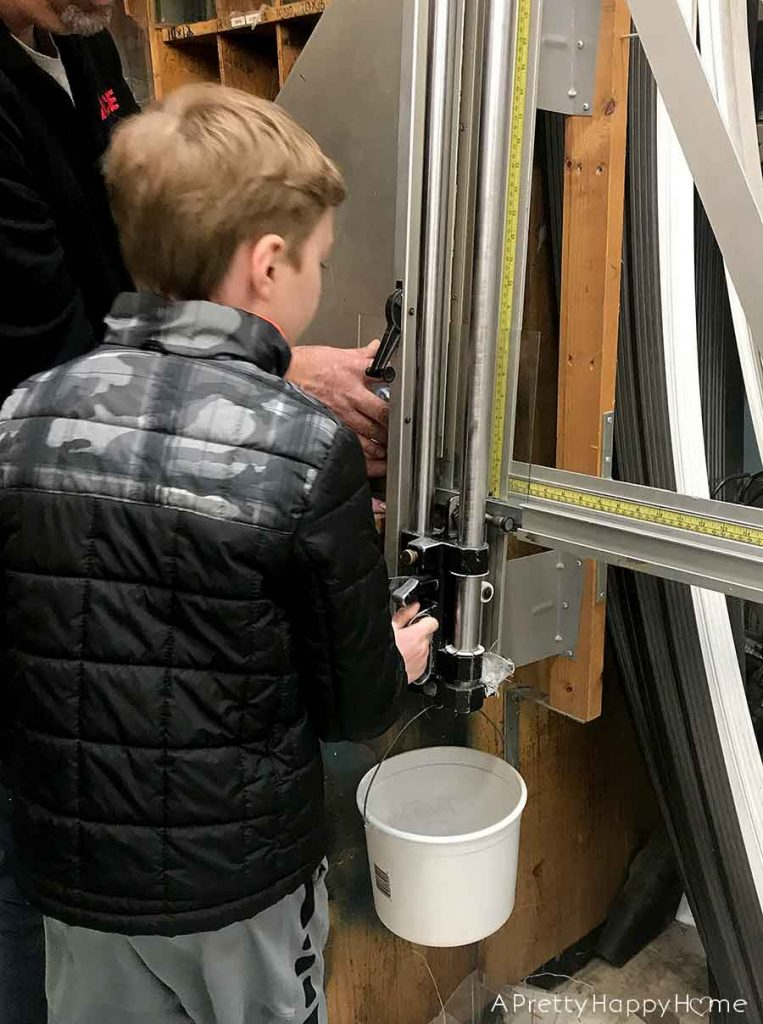 that time my son broke a window