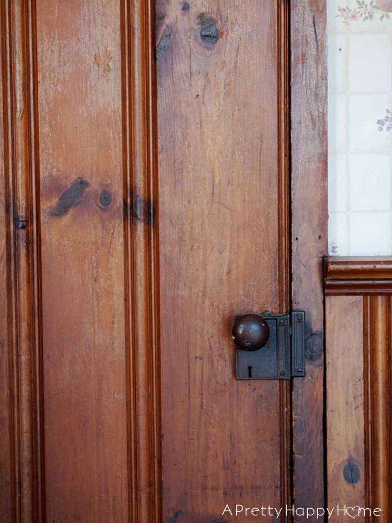 The Doors of Our Colonial Farmhouse