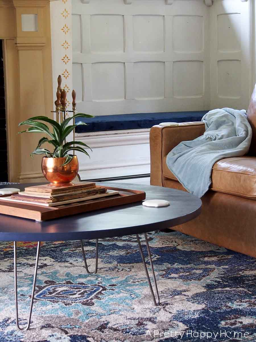 Picture of: A Round Dining Table Can Easily Become A Coffee Table