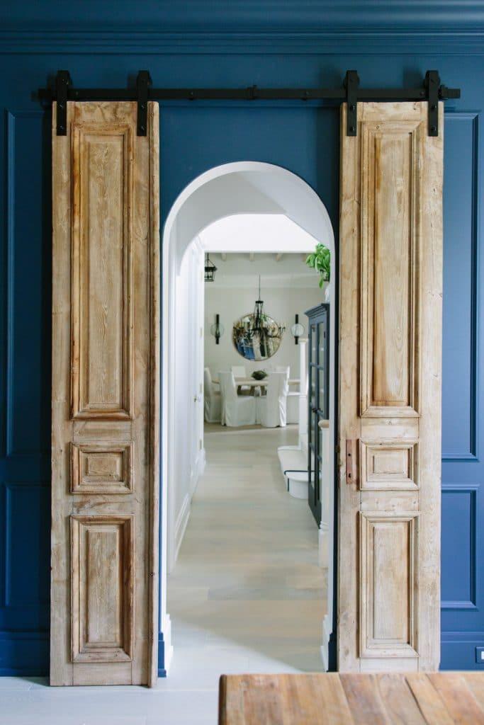 sliding doors via kate marker interiors on the happy list