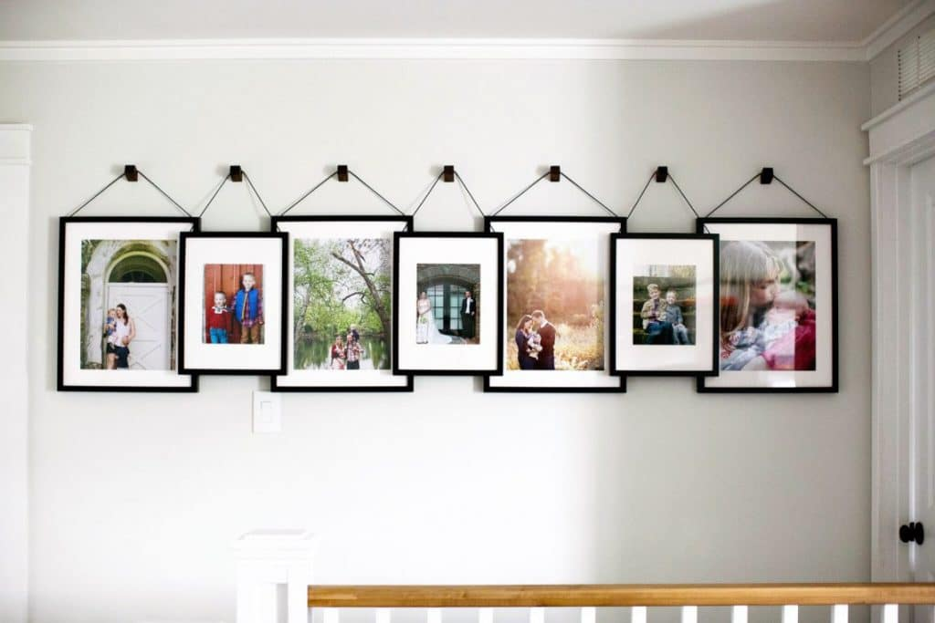 gallery wall hilltown house on the happy list
