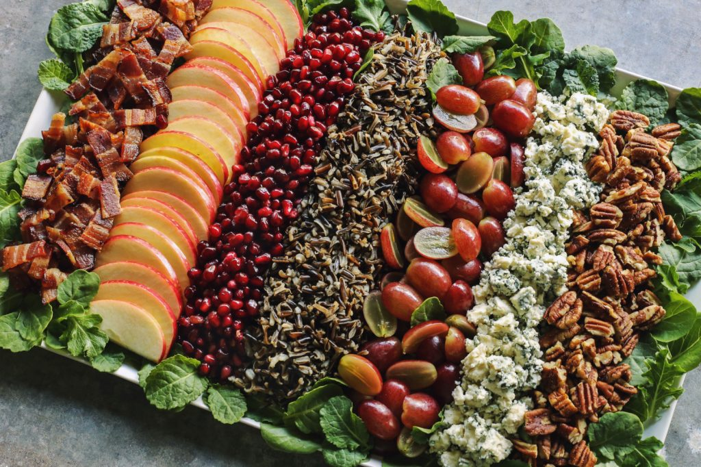 wild rice salad from the pioneer woman on the happy list