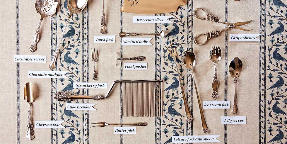 obscure types of cutlery by ian palmer for veranda on the happy list