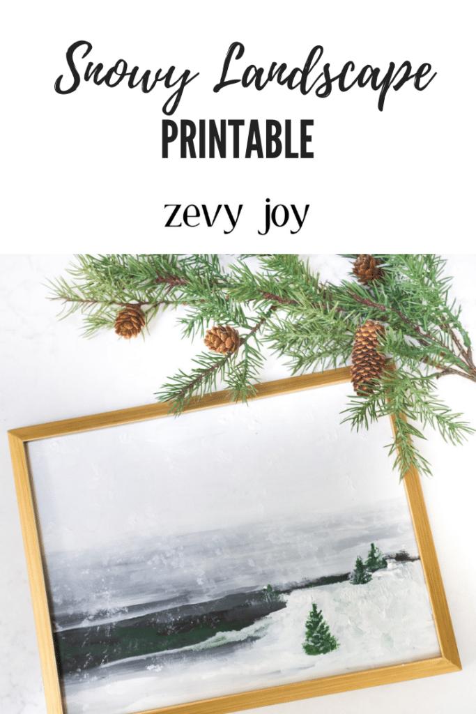 free landscape print by zevy joy on the happy list