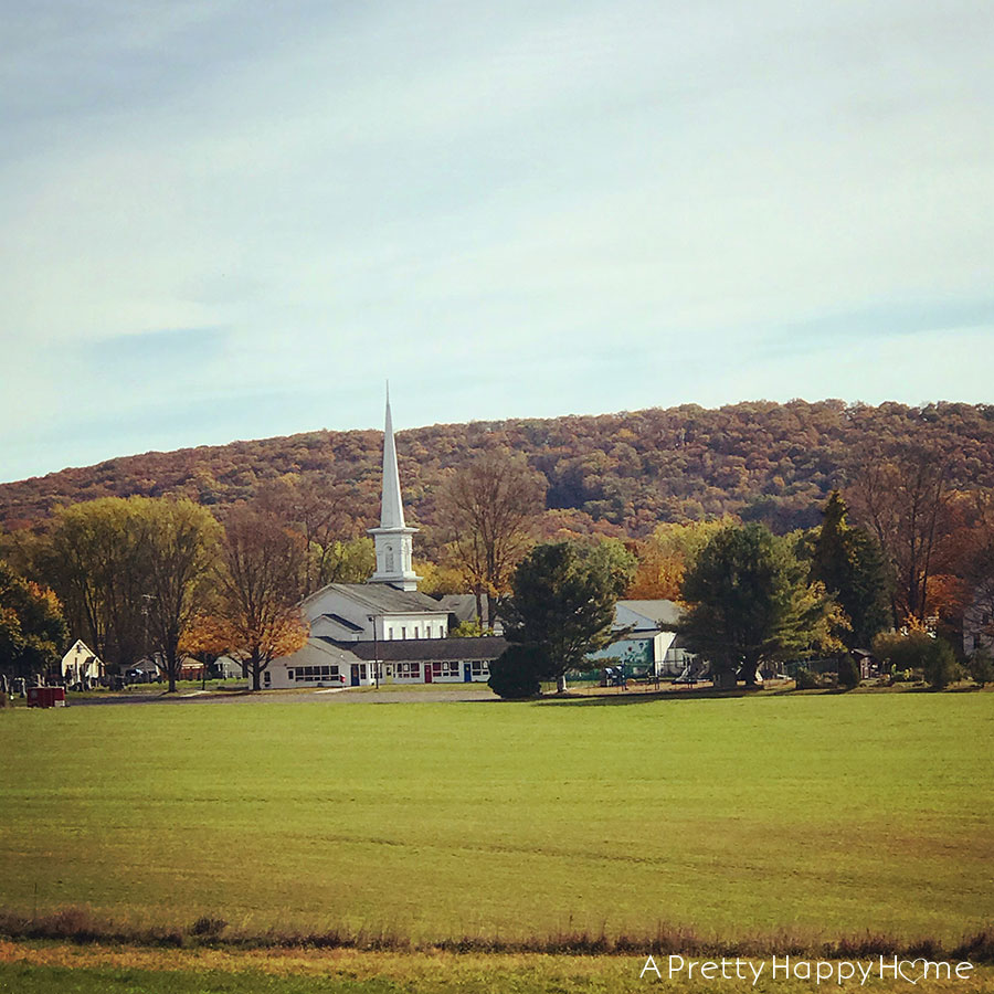 church in new jersey in autumn happy thanksgiving