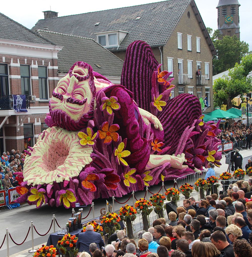 vincent van gogh parade in the netherlands via creative boom photo by corso zundert on the happy list