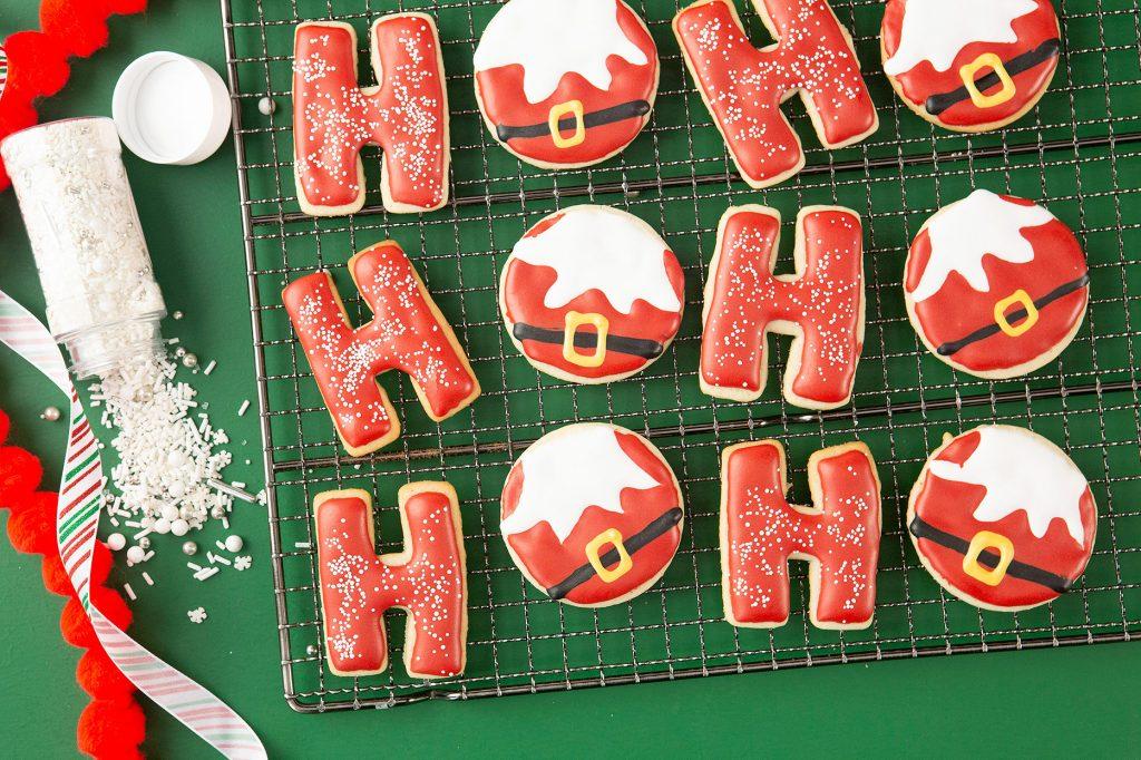 ho ho ho sugar cookies via bhg on the happy list