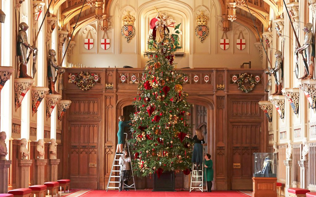 Windsor castle christmas tree 2019 STEVE PARSONS - PA IMAGESGETTY IMAGES on the happy list