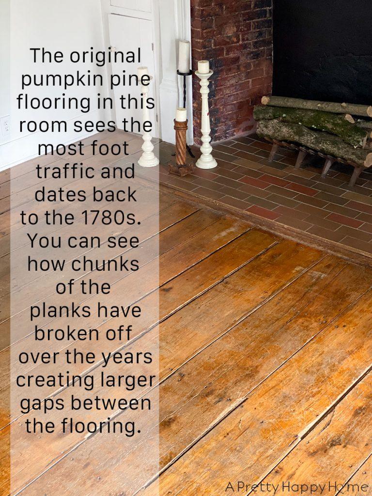 shellac on old floors pumpkin pine wood floors with gaps