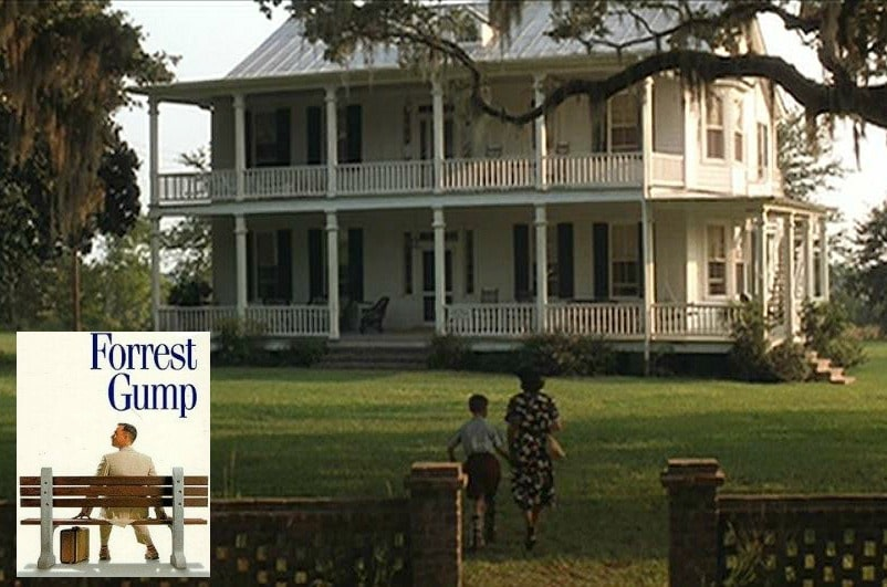 forrest gump movie house via hooked on houses on the happy list
