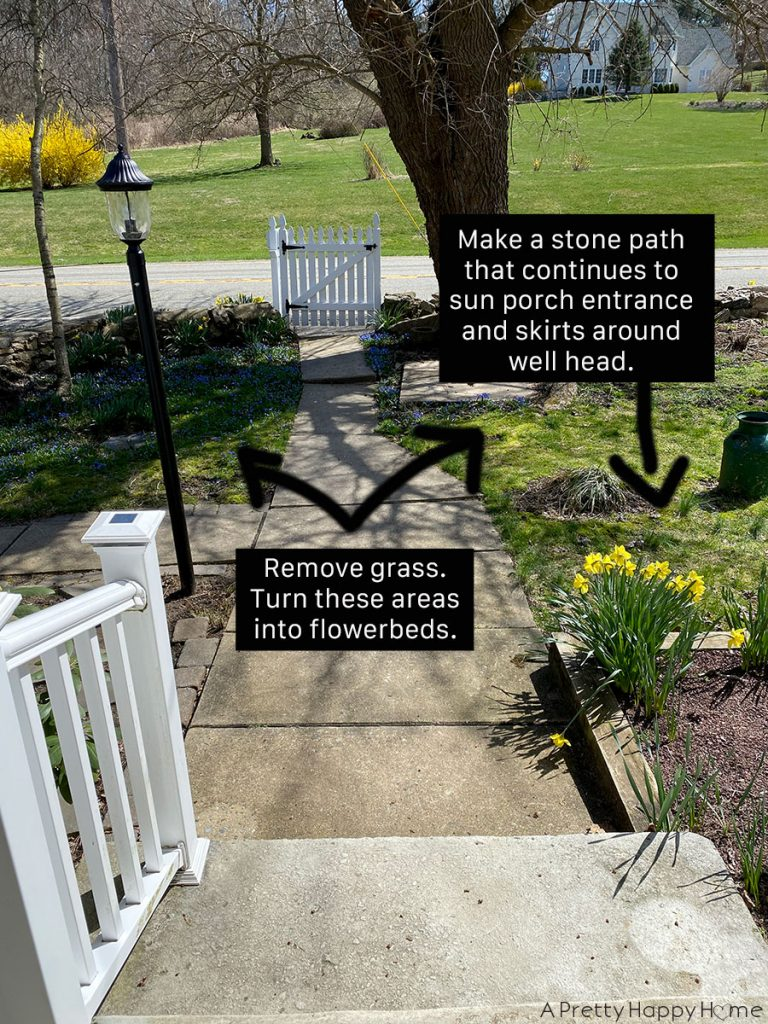 Front Yard Landscaping Plan