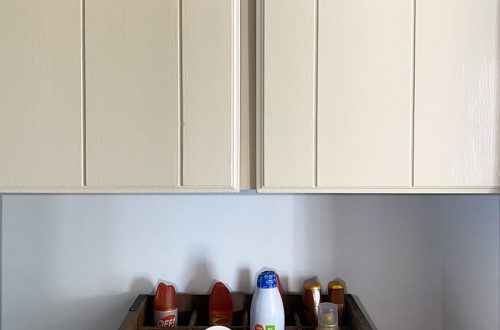 Built In Hallway Shelves