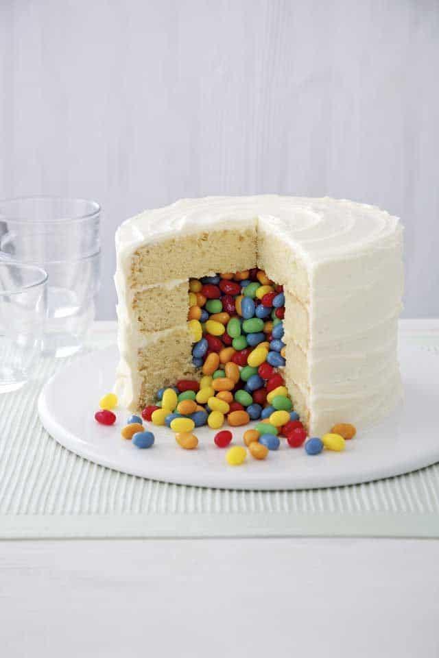 jelly bean cake via cosmopolitan on the happy list