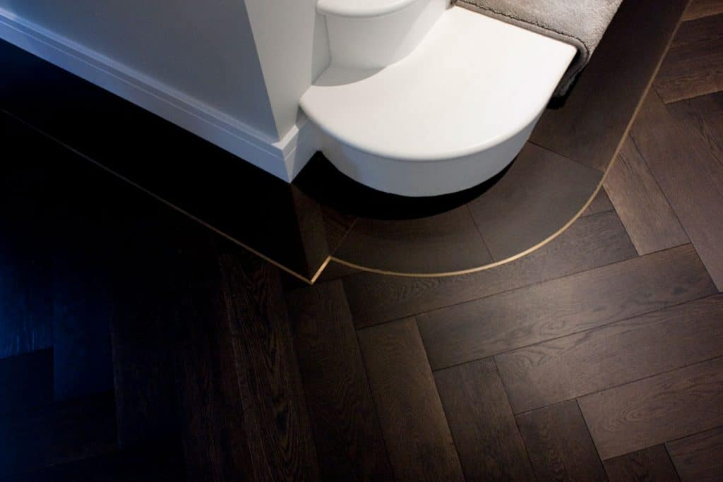 brass floor accent by istoria wood floors on the happy list