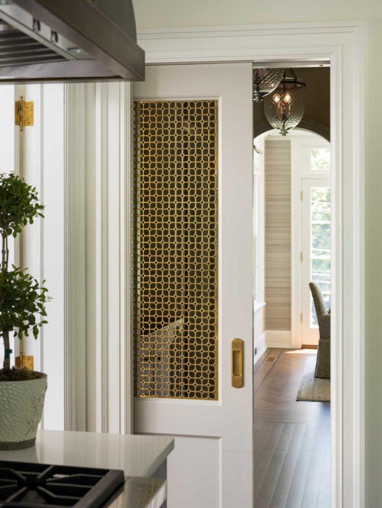 brass door insert via rosen kelly conway on the happy list