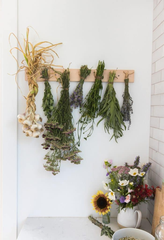 how to dry herbs via the fresh exchange on the happy list