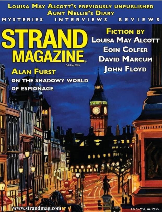strand magazine cover louisa may alcott on the happy list