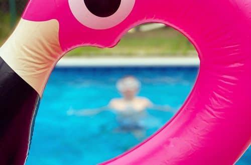 flamingo pool float summer bucket list: covid-19 edition
