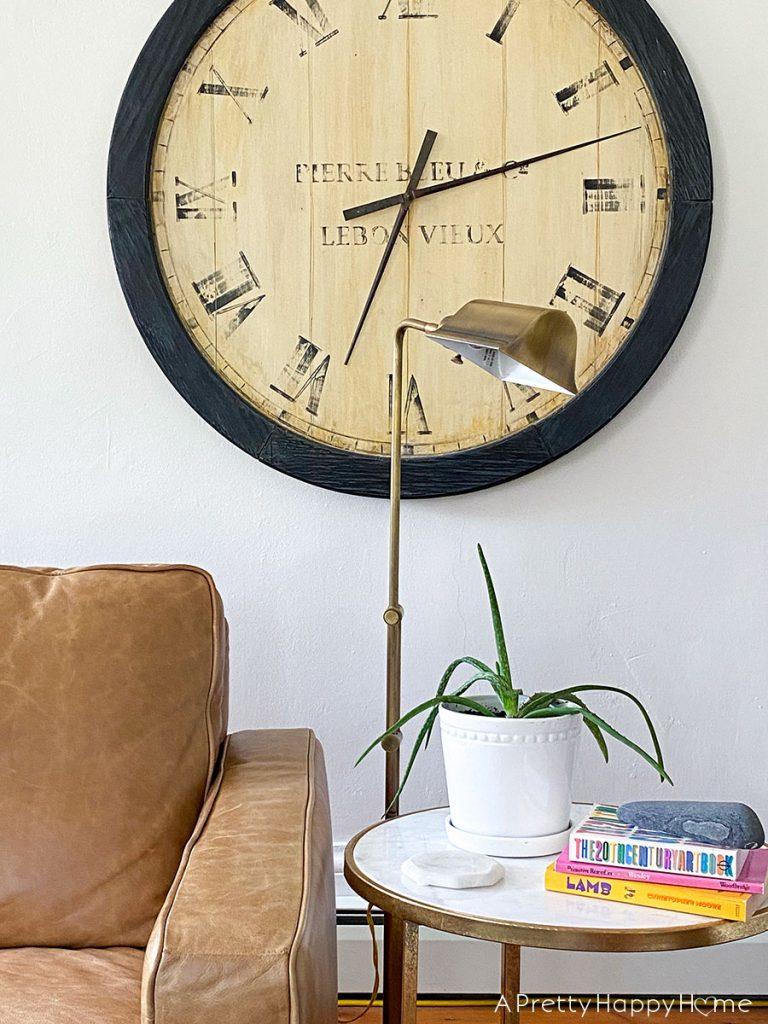 brass floor lamp My Latest Thrift Store Finds: Part 2