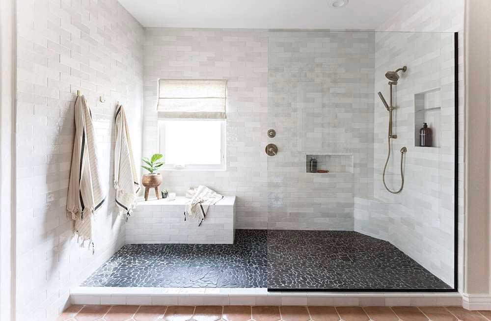 walk in shower via phoenix home and garden on the happy list
