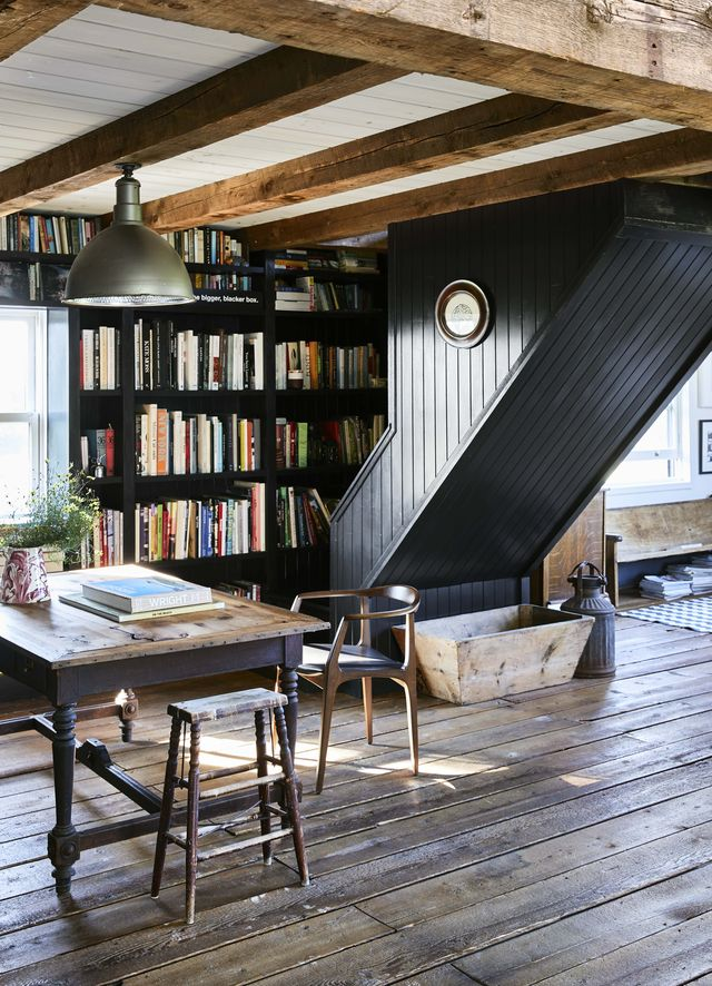 O'Donnell converted barn via country living on the happy list