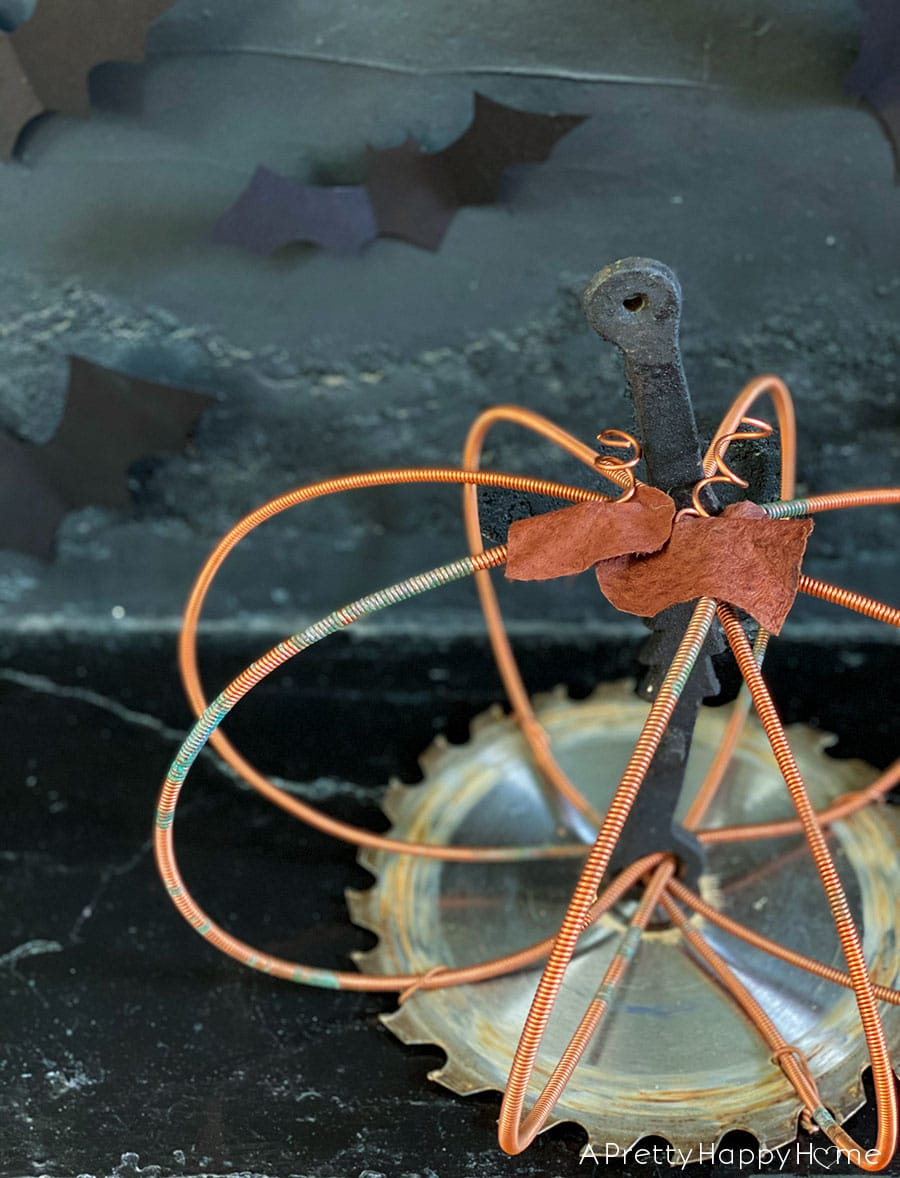 piano wire pumpkin