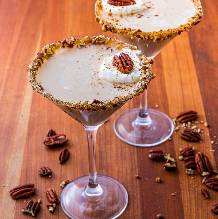 pecan pie martini via delish on the happy list
