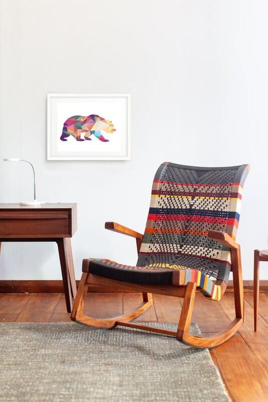 amador rocking chair via wayfair