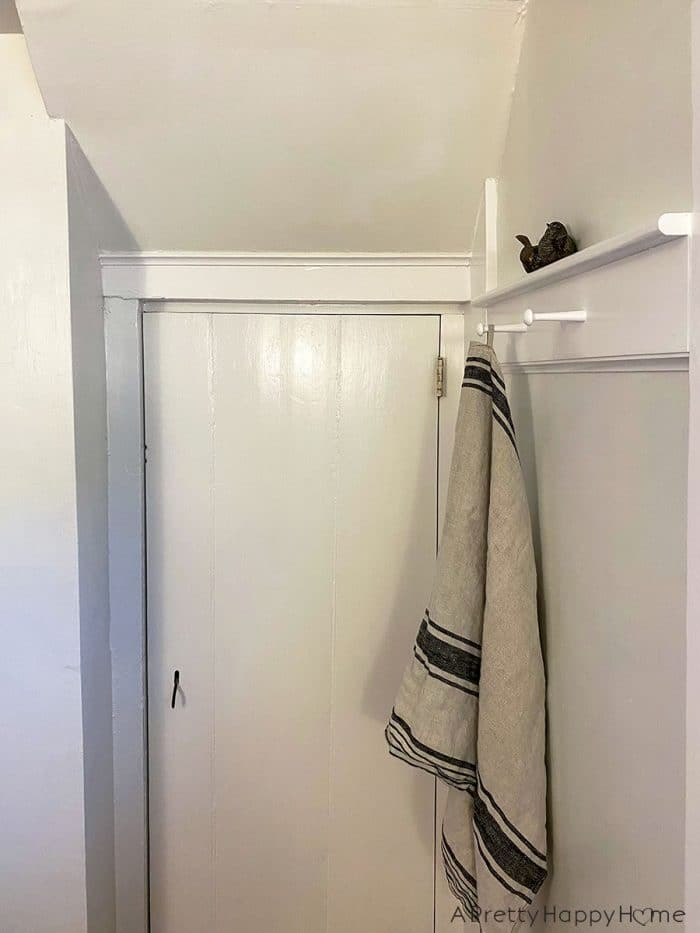 old new bathroom closet