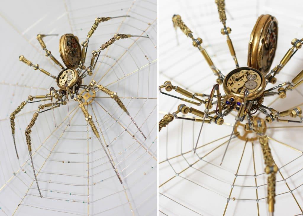 steampunk spider peter saucy